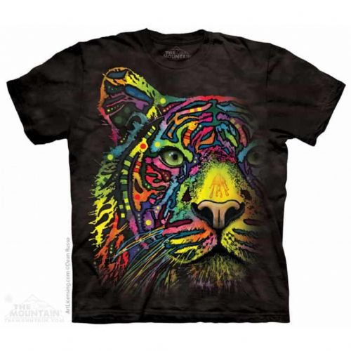 Rainbow Tiger T-shirt | The Mountain®